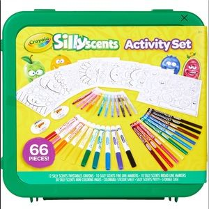 Crayola Silly Scents 66 Piece Activity Set & Case